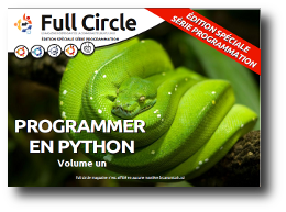 Full Circle sp&eacute;cial Python num&eacute;ros 1 &agrave; 6